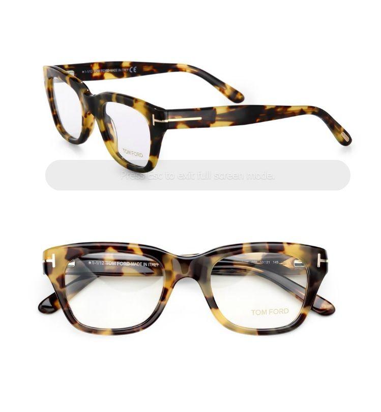Tom Ford- Havana Frames in Tortoise | Glasses | Pinterest | Havana ...
