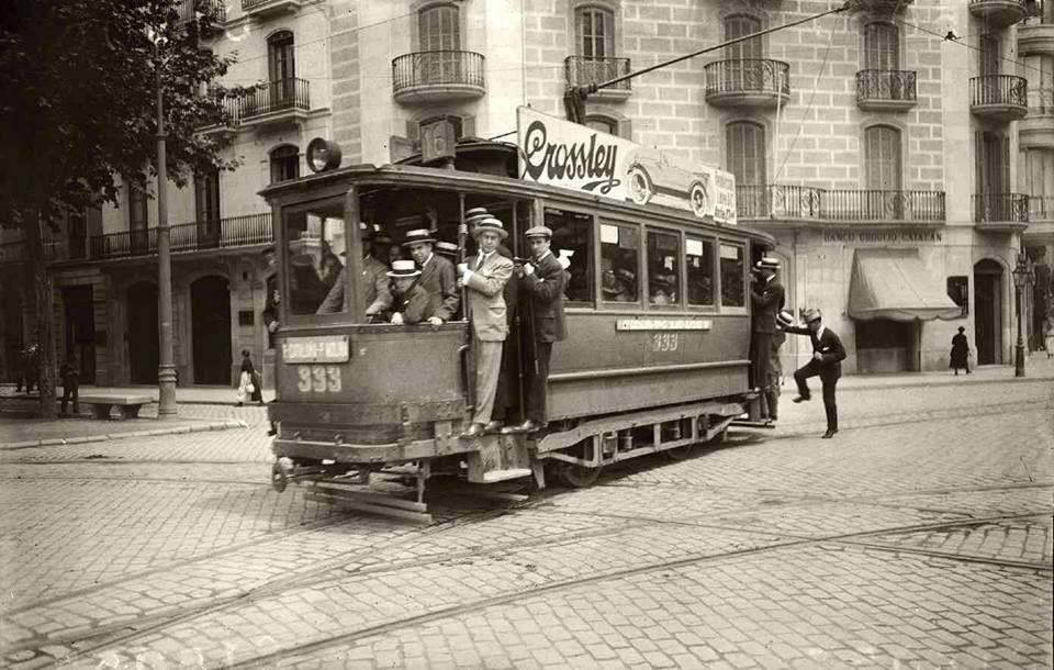 Barcelona, Plaça Molina 1920.