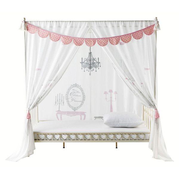Rideau enfant lit à baldaquin ... | chambre & déco fille | Pinterest ...