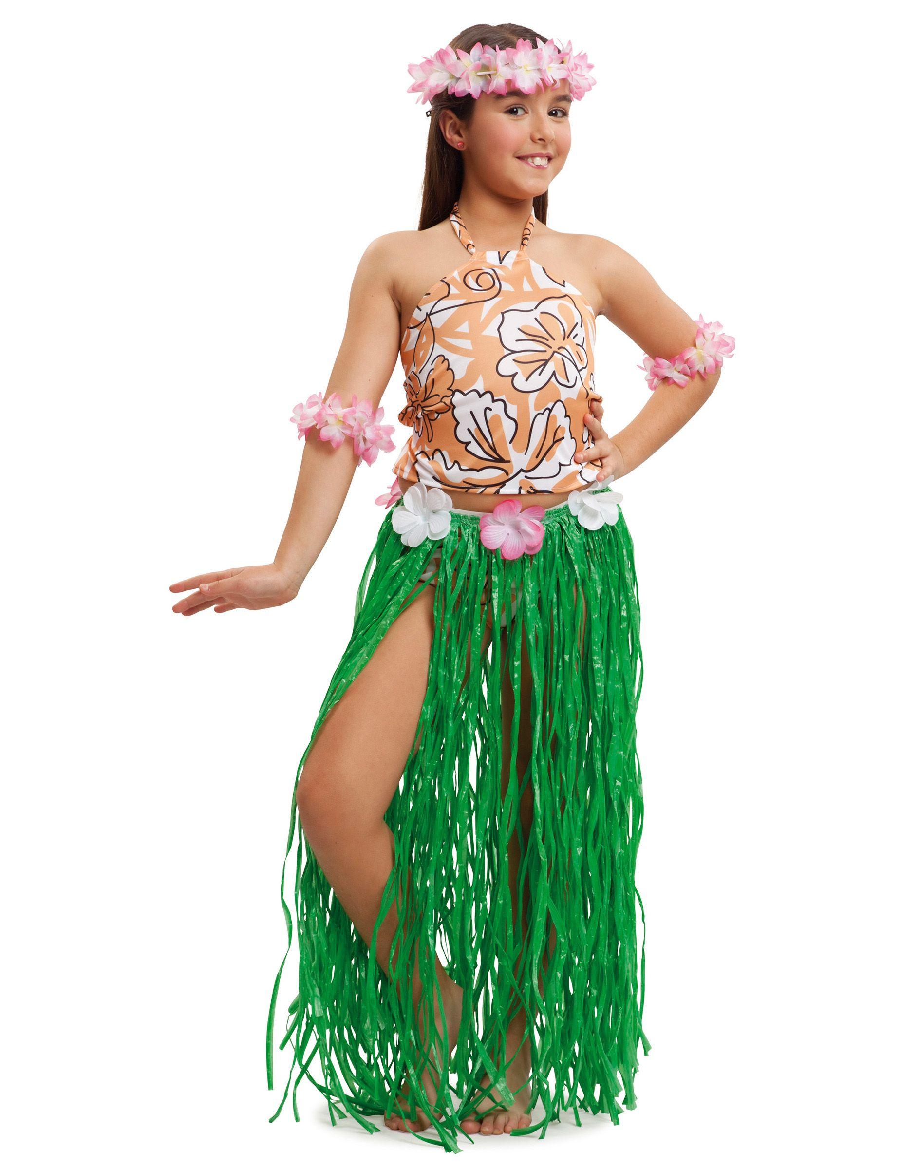 d8b762e9d90 Kostüm Hawaii-Mädchen in 2019 | BD celebration | Hawaiian party ...