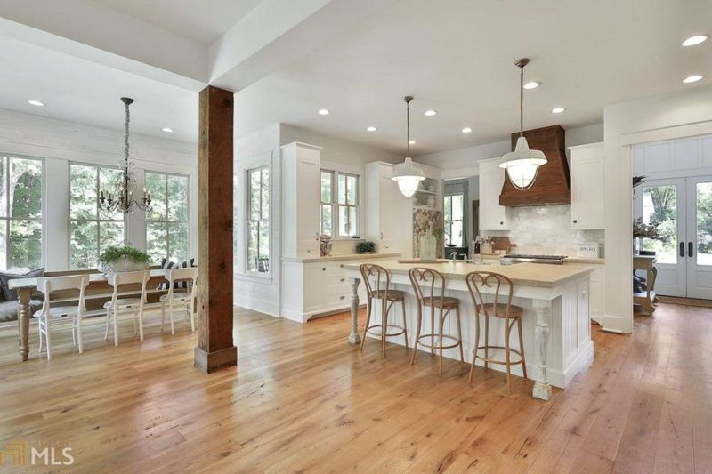 A modern farmhouse featured in country living for sale in