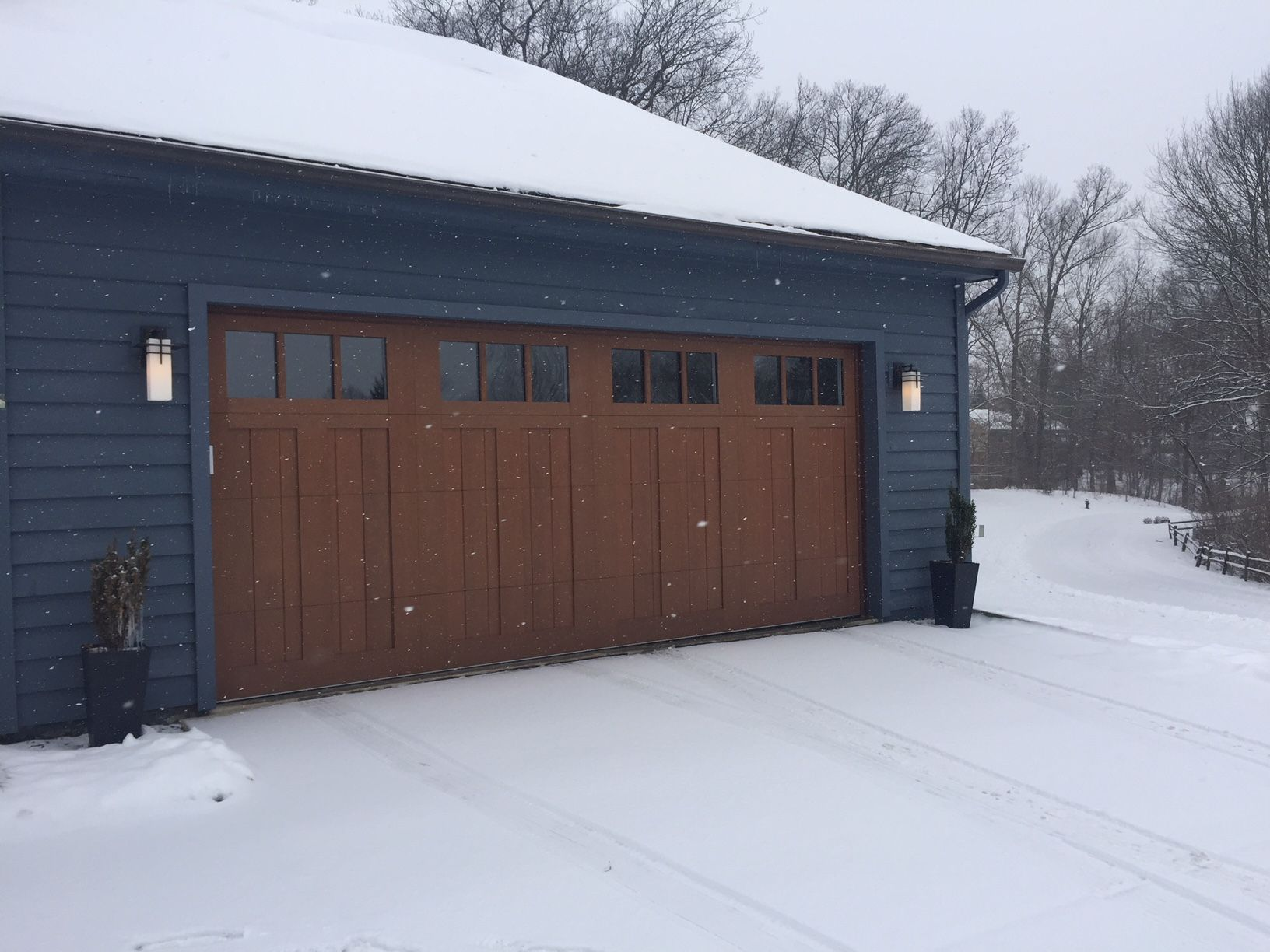 How To Fix Garage Door Problems Caused By Cold Weather Snow And Ice