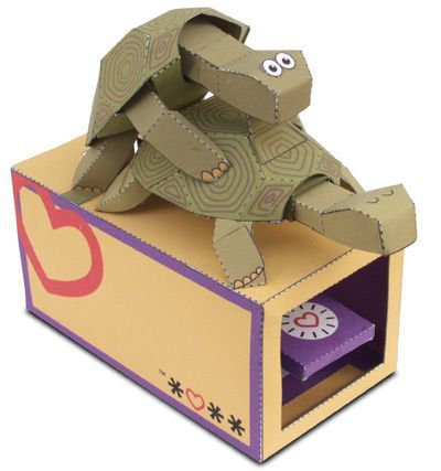 Max's snack attack dog automata free papercraft download.