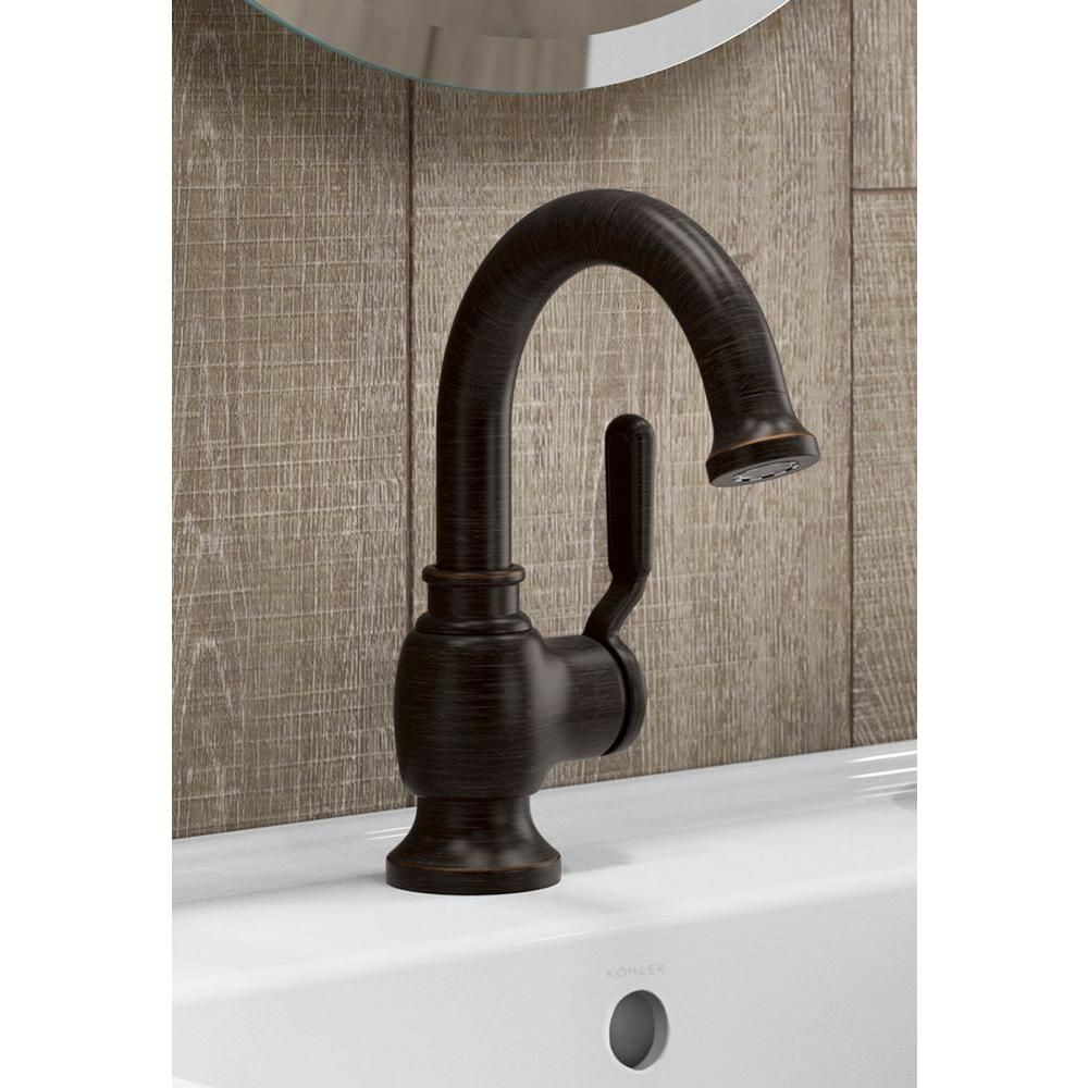 Kohler Worth Single Hole Single Handle Bathroom Faucet In Oil