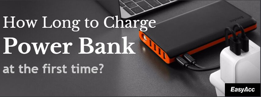 How Long To Charge Power Bank First Time Easyacc Media Center Powerbank Power Media Center