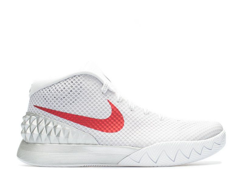 5265a1190a6b Purchase KYRIE 1 LMTD DOUBLE NICKEL white unvrsty red mtllc slvr 812559 160