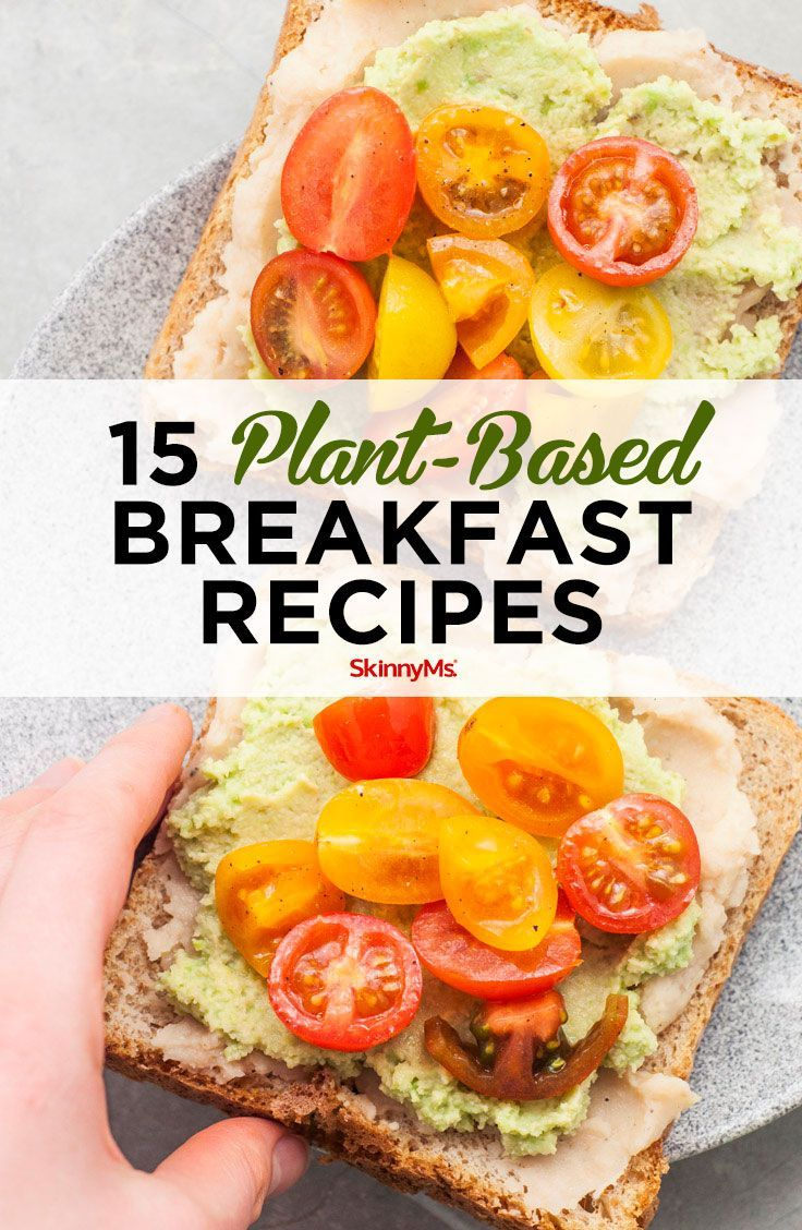 15 Plant-Based Breakfast Recipes images