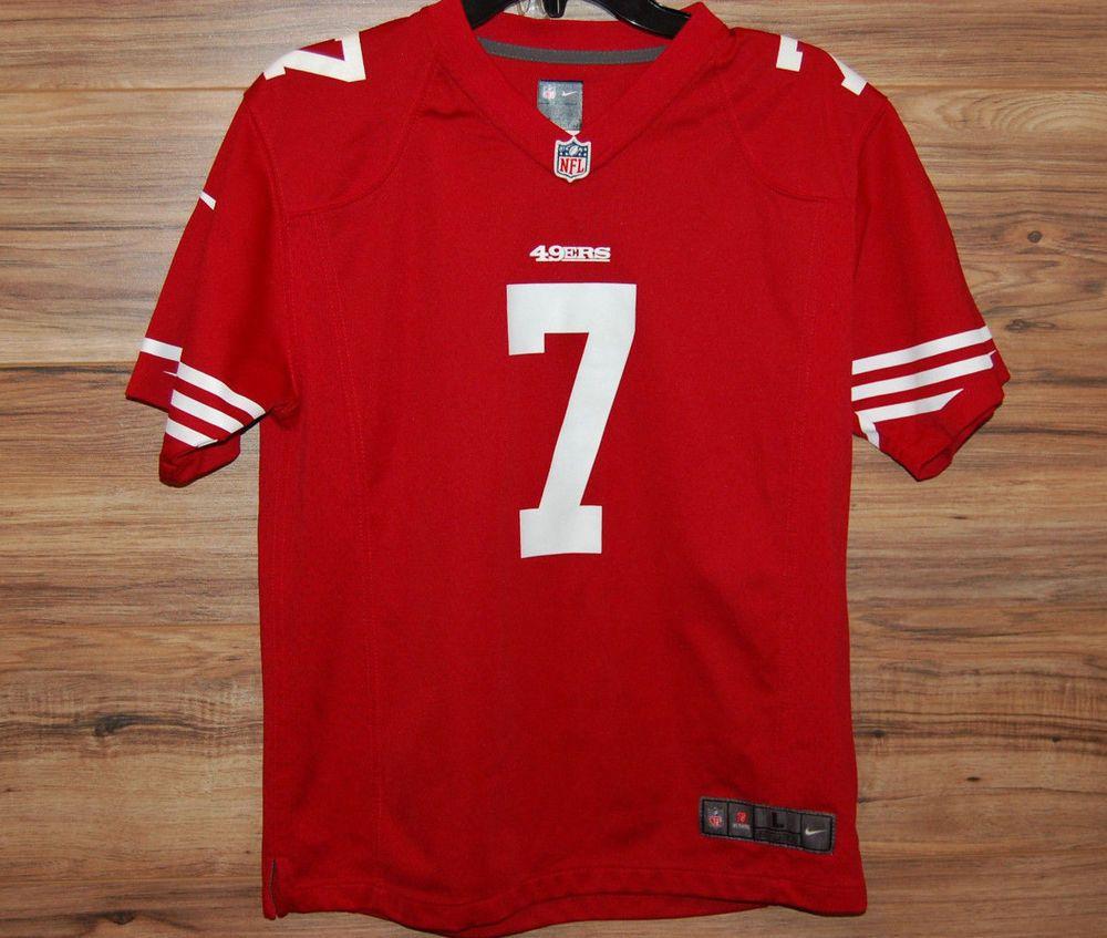 factory authentic c5c4e fe559 Nike On Field San Francisco 49ers Colin Kaepernick #7 NFL ...