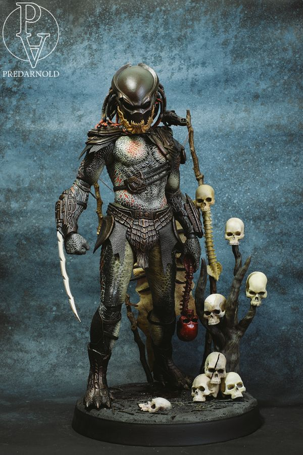 The Alien /& Predator Figurine Collection BERSERKER PREDATOR ALIEN VS PREDATOR