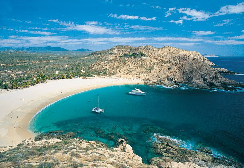 The Most Gorgeous Secluded Beach Playa Santa Maria Los Cabos Mexico