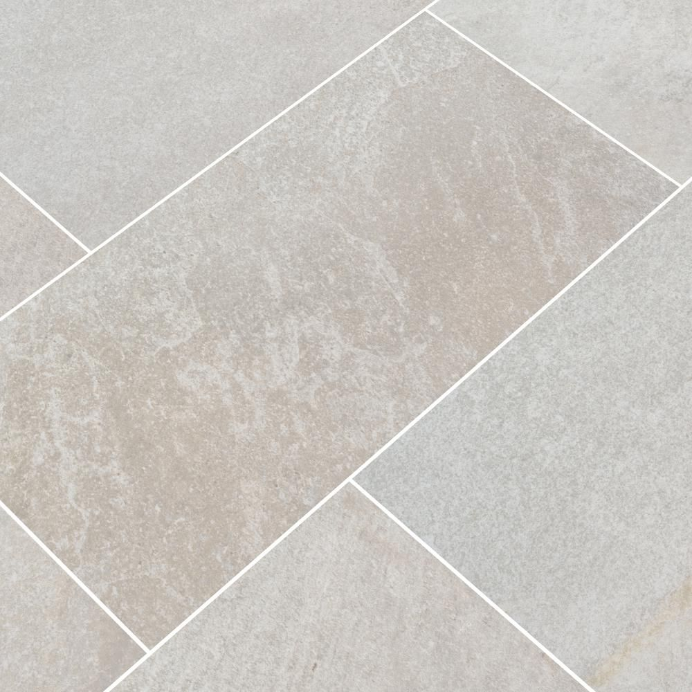 Msi Brixstyle Blanco 12 In X 24 In Matte Porcelain Floor And Wall Tile 12 Sq Ft Case Nbribla1224 The Home Depot Porcelain Flooring Flooring Porcelain Tile Floor Kitchen