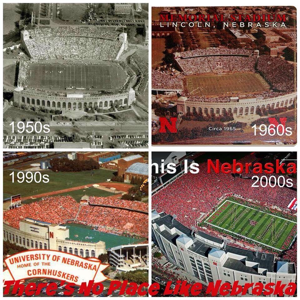 Memorial Stadium In Lincoln Nebraska Nebraska Huskers Football