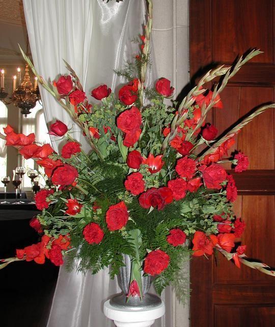 Church Altar Arrangements Wedding Flowers Gladiolas: Gladiolus Arrangment Ideas