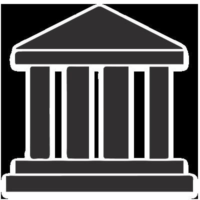 Bank Symbols Symbols Icon Outdoor Structures