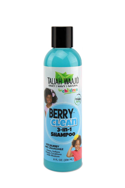 Taliah Waajid Natural Shampoo For Kids Berry Clean Three