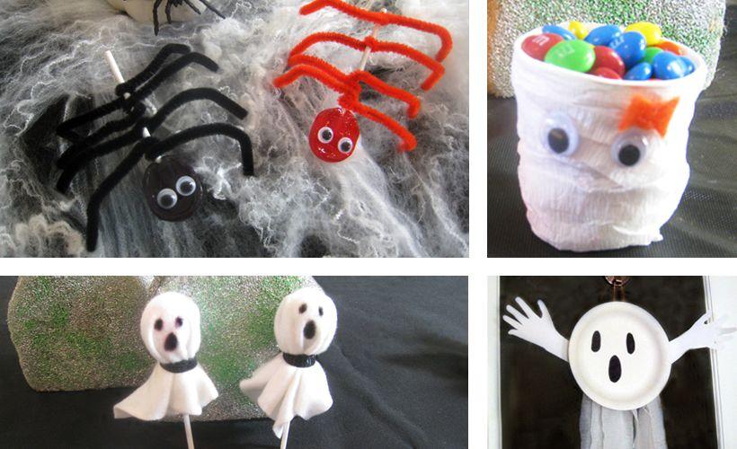Easy Halloween Crafts for Kids Easy halloween, Fun halloween - cute easy halloween decorations