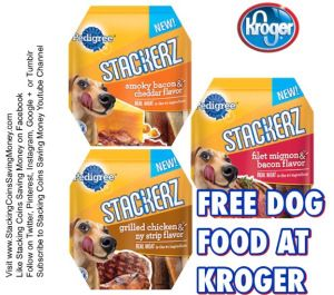 Free Pedigree Stackerz Dog Treats At Kroger Supermarkets