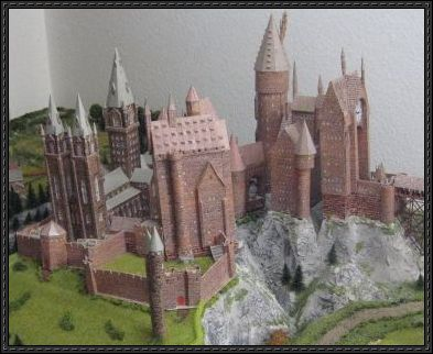 Harry Potter Wizard Castle Free Papercraft Download With Images
