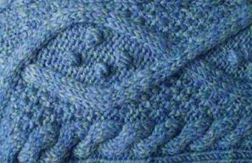 Ravelry: Aran con cable del encogimiento de hombros en el patrón de ...