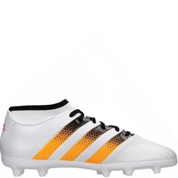 2be9b07fd78 adidas ACE 16.3 Primemesh FG AG White Solar Gold Black Women s Soccer Cleats  - model AQ3239