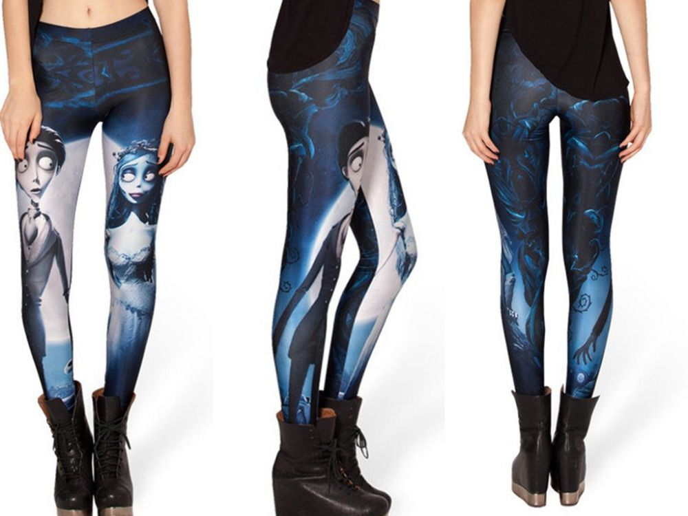 Corpse Bride <3  Cheap leggings shiny, Buy Quality legging manufacturers directly from China legging busha Suppliers: New Without Tags100% Brand Newpolyester 88% & spandex 12% Asia Medium SizePlease allow + / - 1.5cm diffe