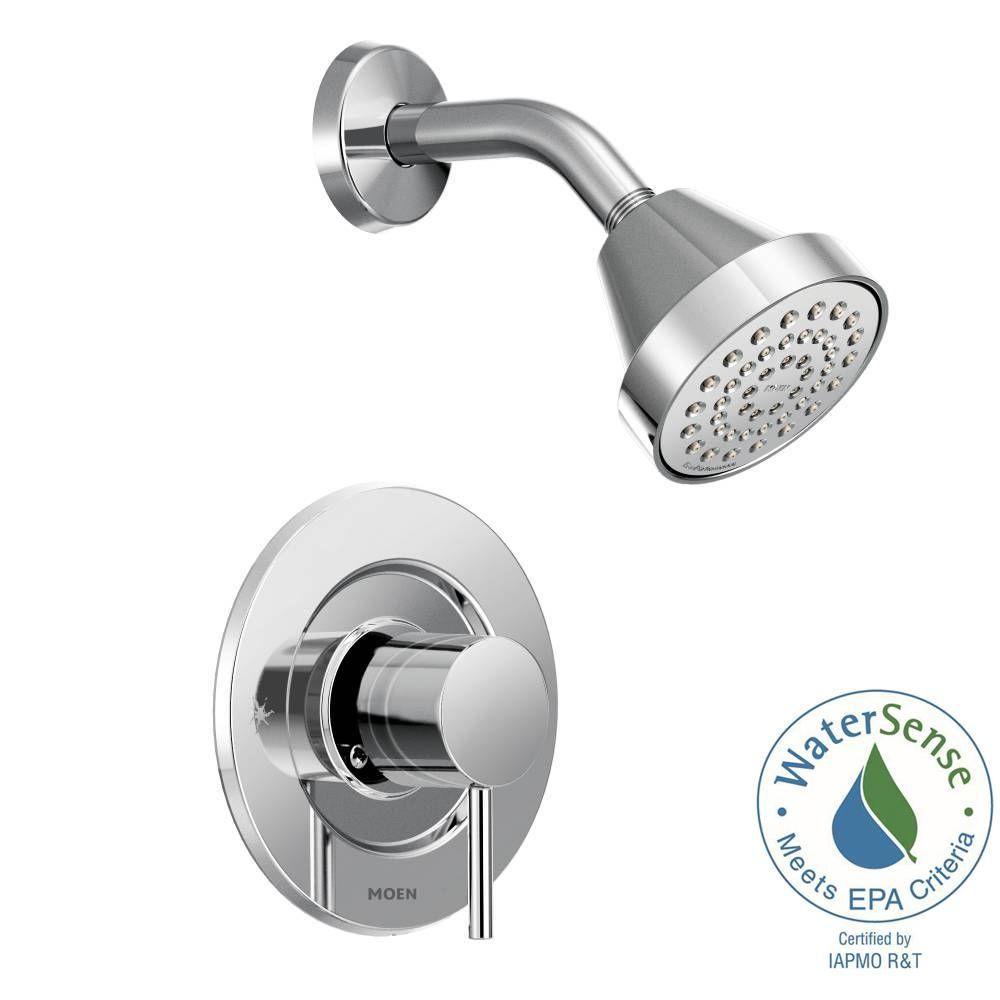 Moen Align Single Handle Posi Temp Shower Faucet Trim Kit In