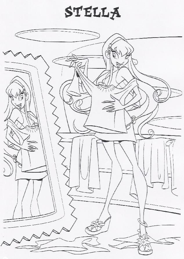 Coloriage Winx Coloring Pages Cool Coloring Pages Winx