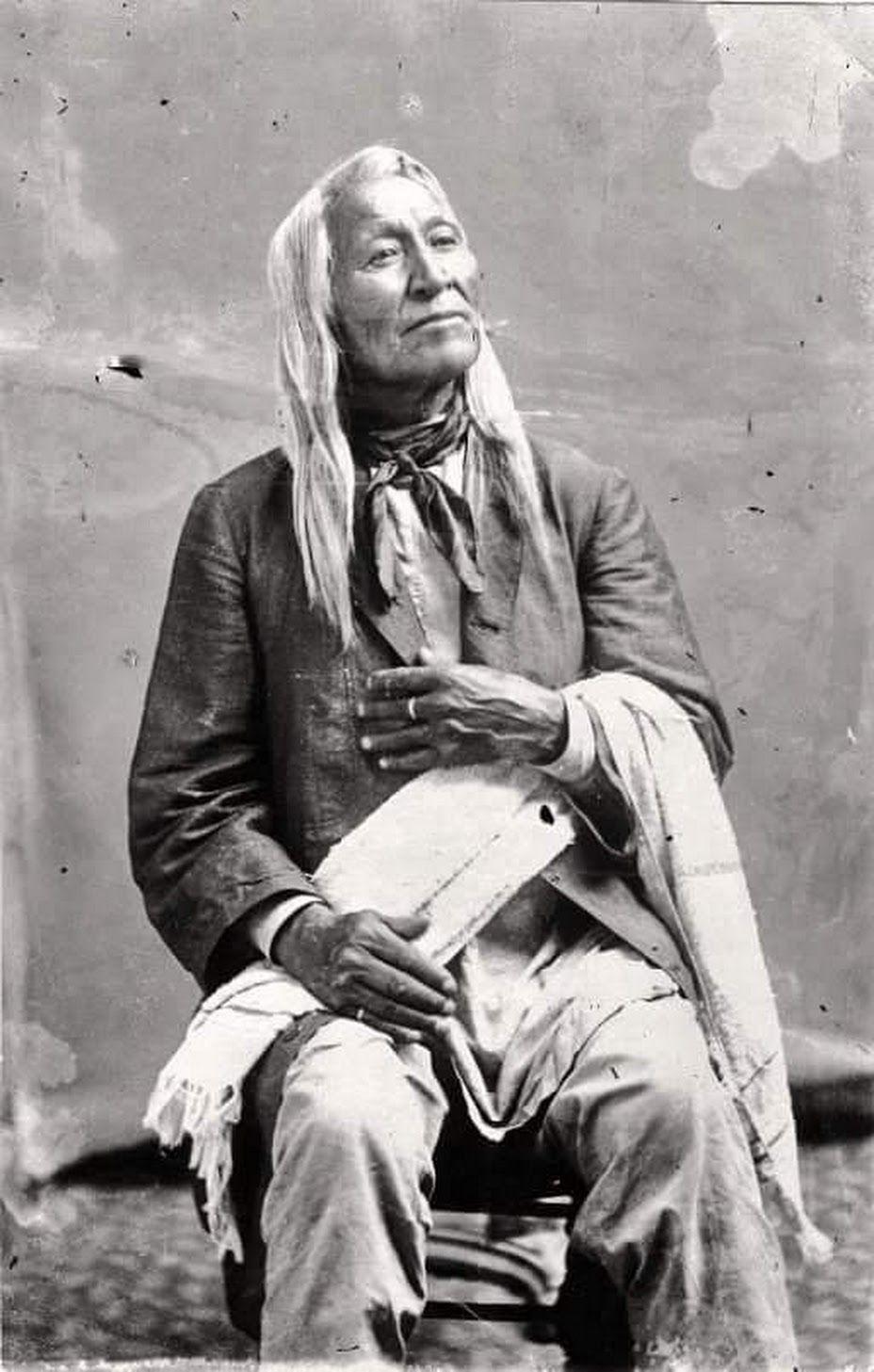 Photo of Shoshone Chief, Washakie   Late 1800's