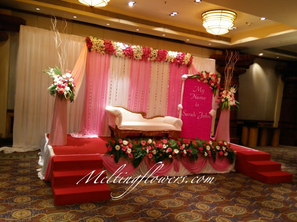 Naming Ceremony Decoration Ideas From The Best Flower Decorators In Bangalore Naming Ceremony Decoration Ceremony Decorations Flower Decorations
