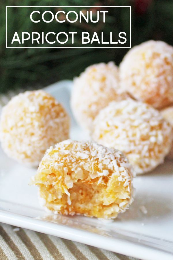 Coconut Apricot Balls Are Made With Dried Apricot Shredded Coconut Finely Chopped Walnuts And Sweetened Condens Dried Apricot Recipes Apricot Recipes Recipes
