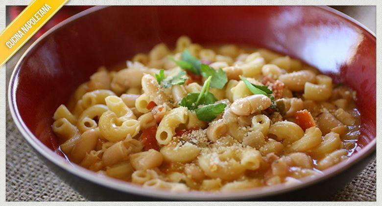 Ricetta della pasta e fagioli estiva