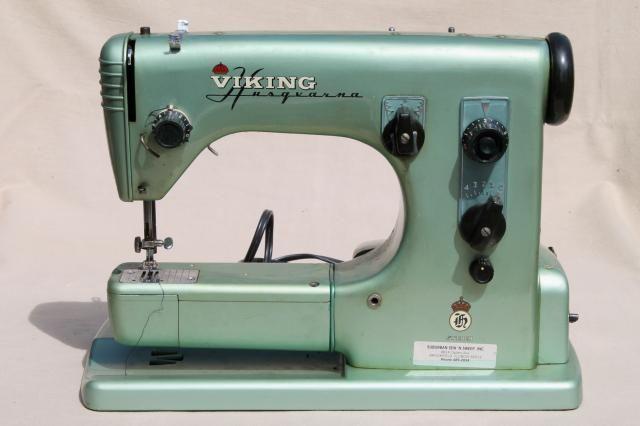 Vintage Viking Husquvarna 40E Sewing Machine Free Arm W Manual Fascinating Vintage Viking Sewing Machine