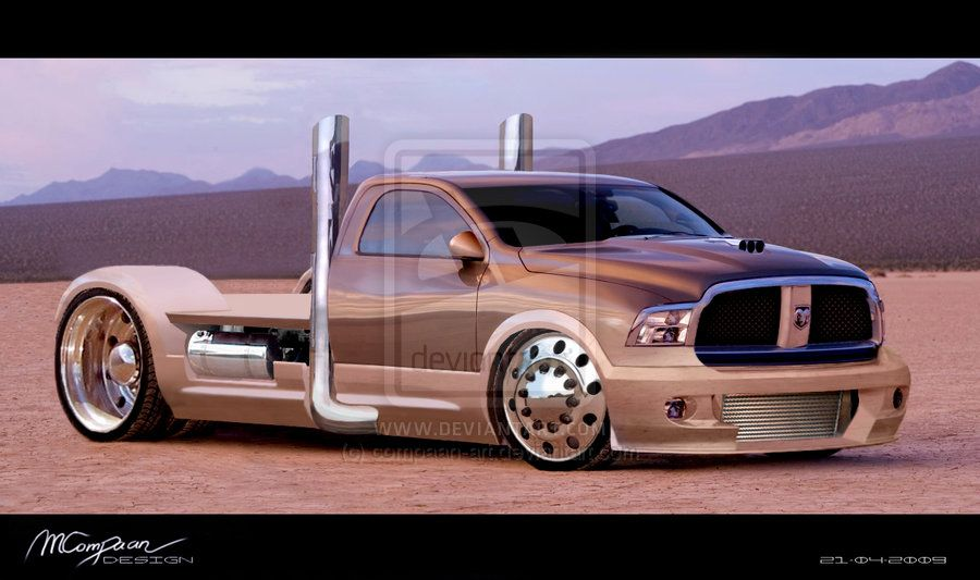 Dodge Ram Pick Up Truck Inspiration Was The In Fast Furious 4 Used Photo Also Submitted As A Print Requested C Copyright Manuel