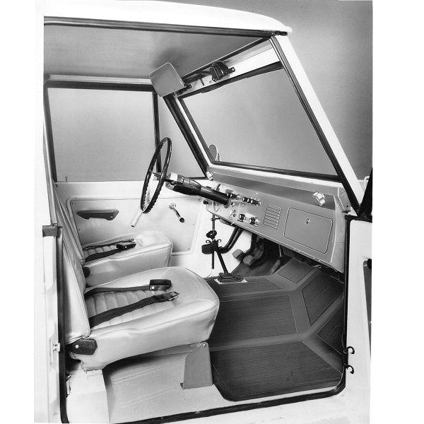 Bronco Interior Publicity Release 1965 8 17 Classic Bronco Bronco Early Bronco