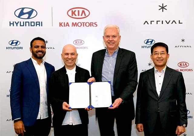Hyundai and Kia invest in Arrival to co-develop electric commercial vehicles