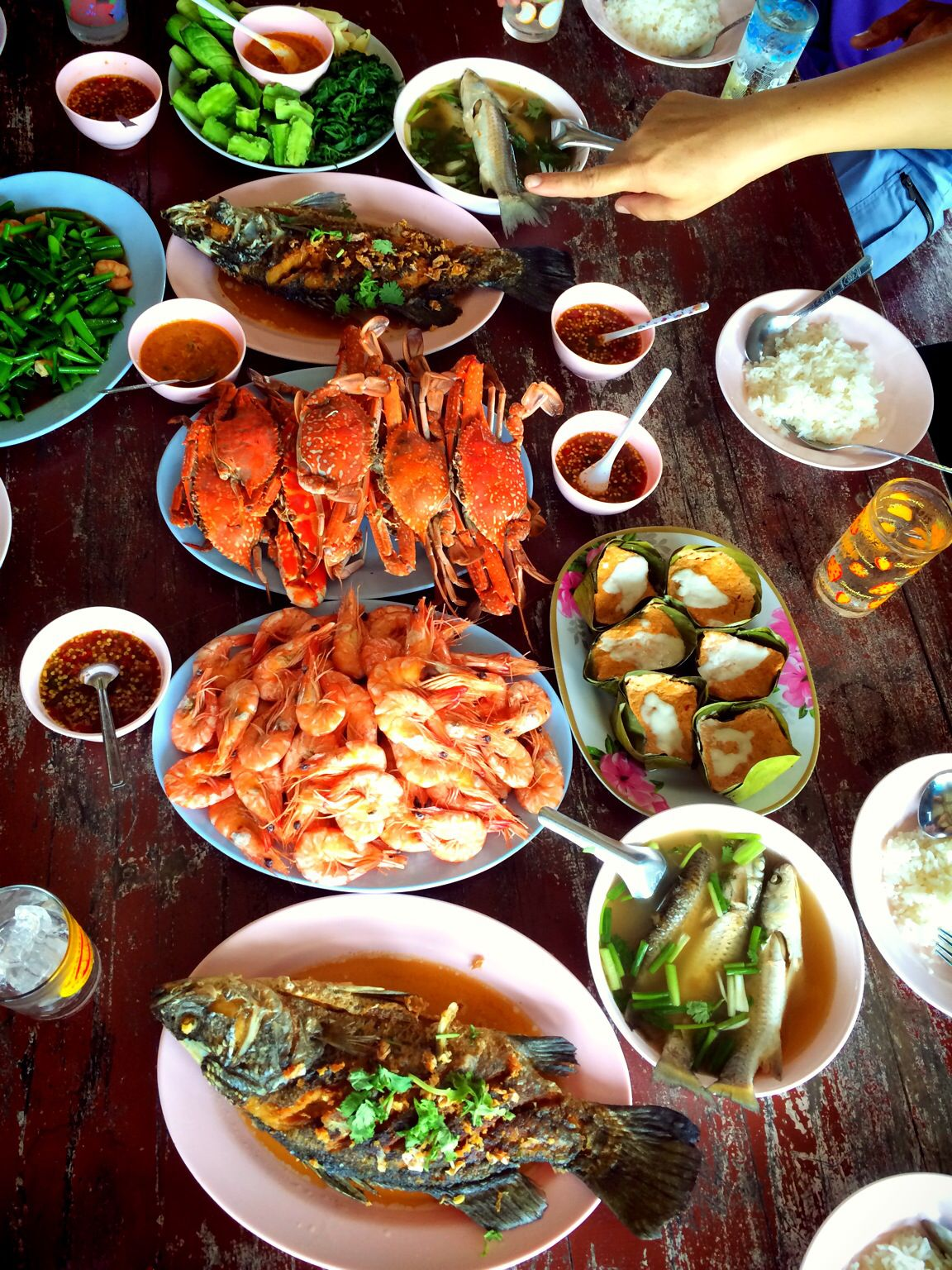 Thai Food Thai Meal Pinterest Thai Cuisine Thailandaise And