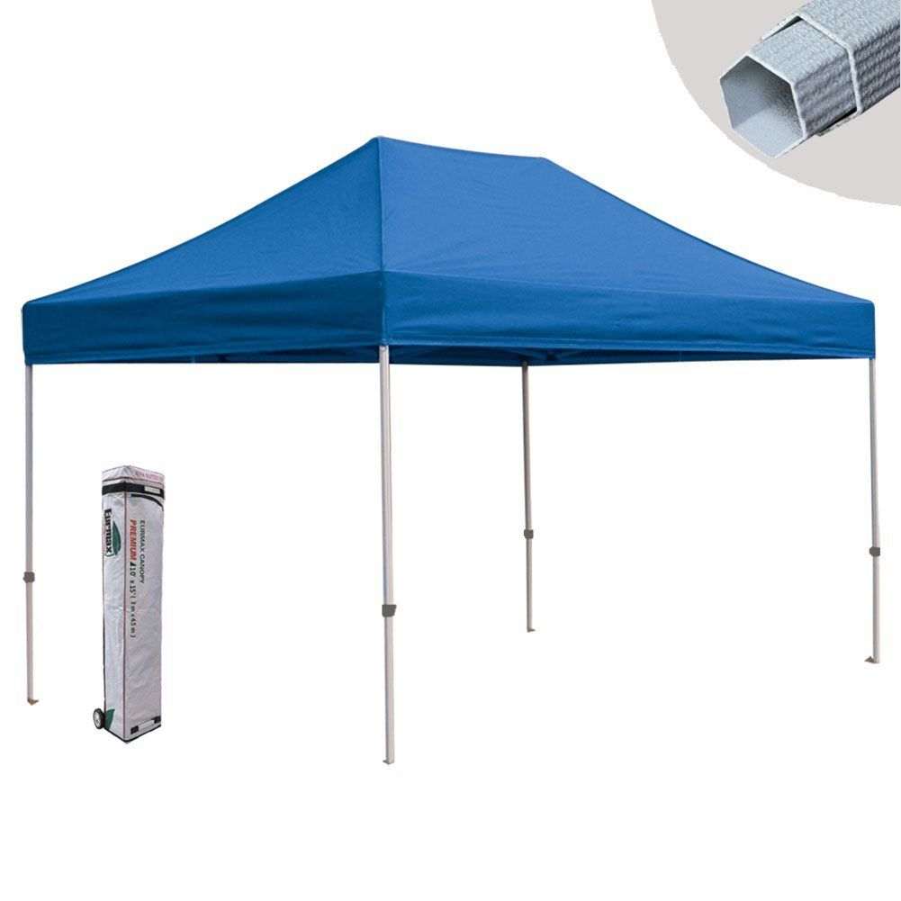 Eurmax PRE 10x15 Canopy Tent Commercial Pop up Canopy Gazebo with Roller Bag Blue *  sc 1 st  Pinterest & Eurmax PRE 10x15 Canopy Tent Commercial Pop up Canopy Gazebo with ...