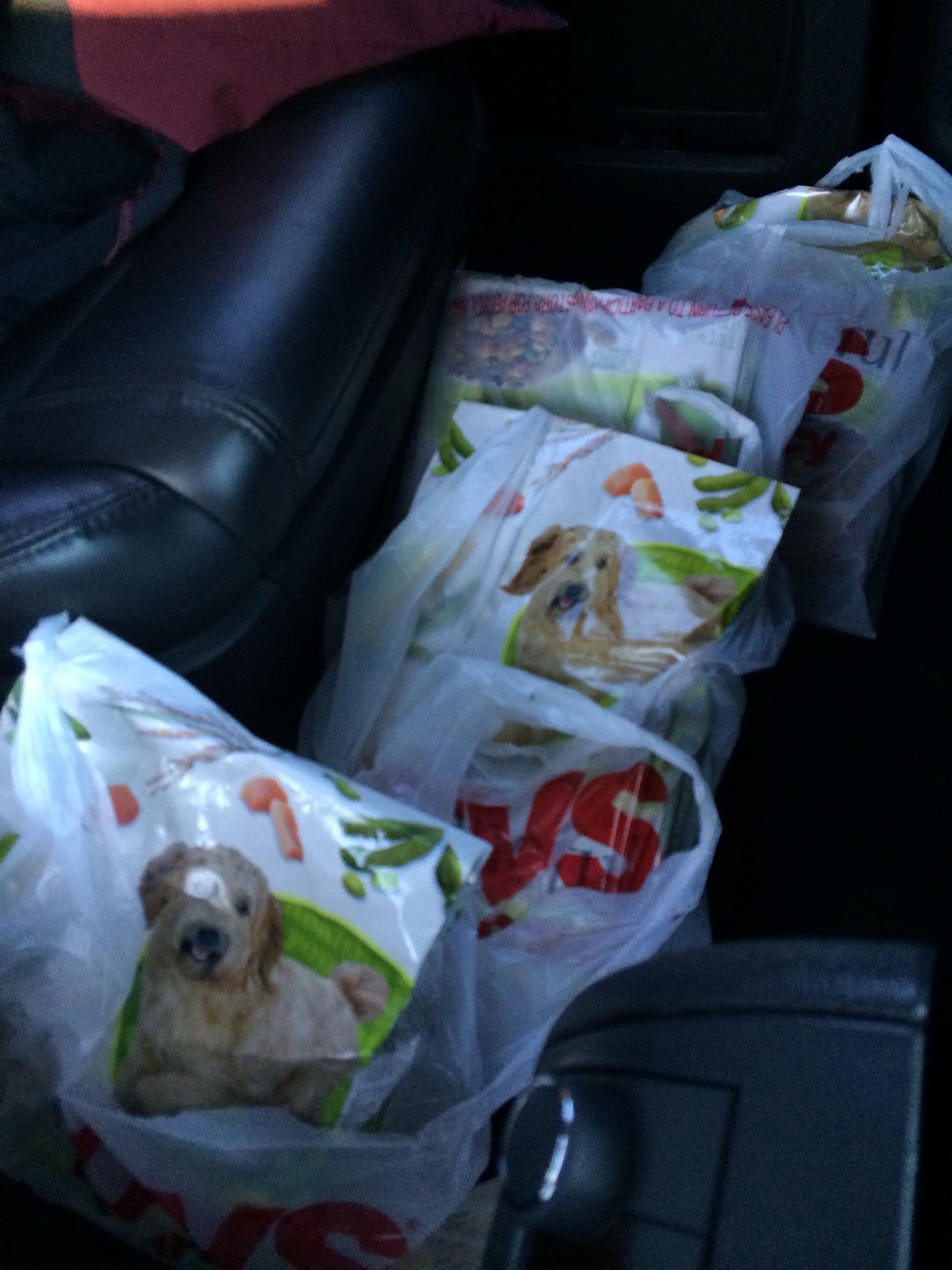 BOGO deal..CVS had this dog food for $5 so I grabbed 4 paying for only 2..;-)