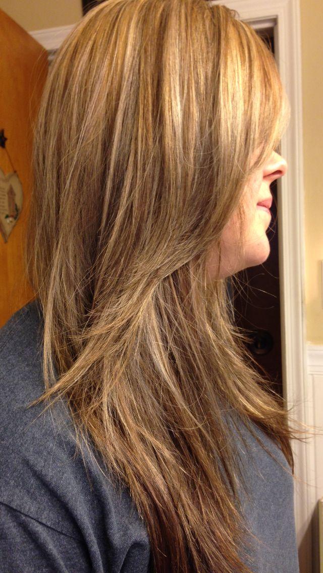 Pin By Sara Kunkel On Sara S Hair Creations Hot Hair Styles Brown Blonde Hair Spring Hair Color