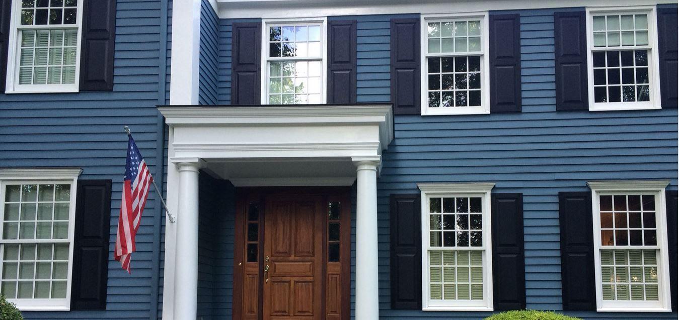 home depot exterior shutters raised panel home exteriors