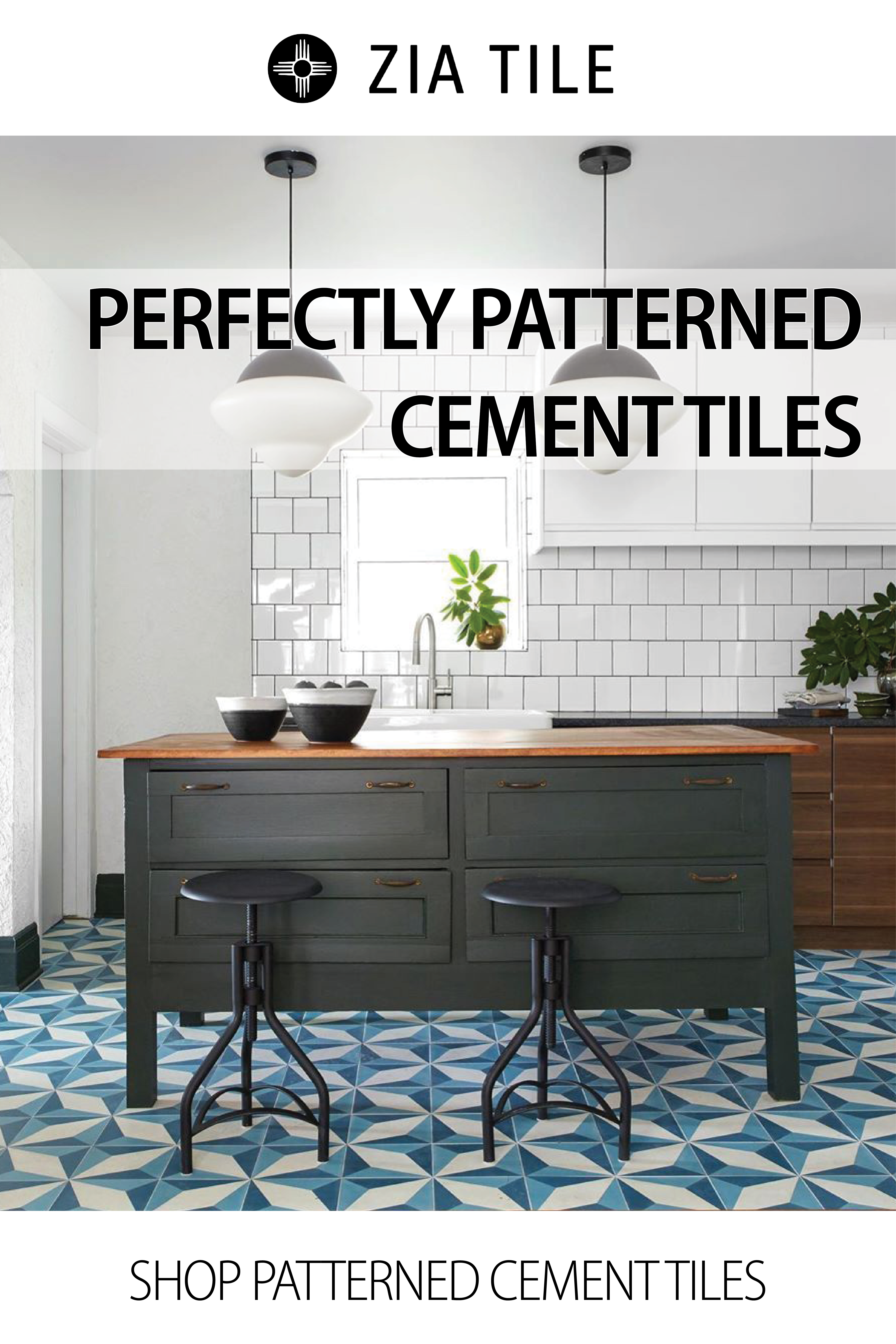 In Stock Cement Tile And Moroccan Zellige Zia Tile Los Angeles In