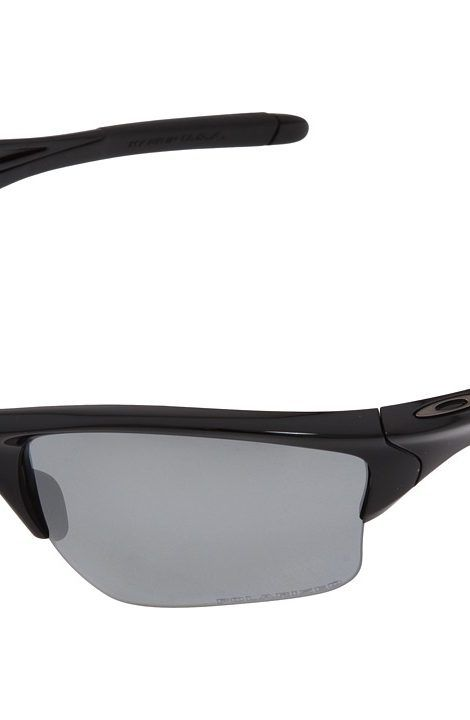 8d93dbf4fe Oakley Half Jacket 2.0 XL Polarized (Polished Black w Black Iridium  Polarized) Sport