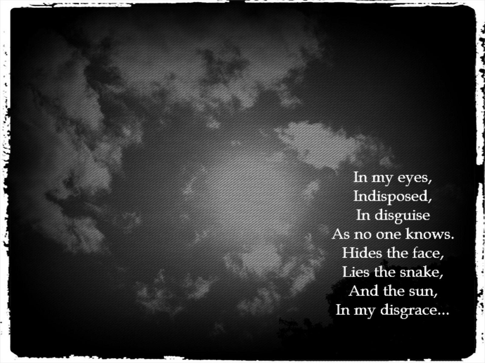 black hole sun lyrics - 736×552