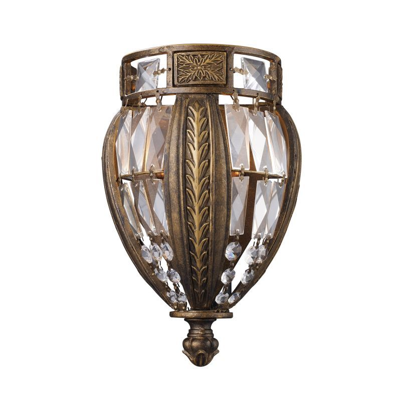 Elk Lighting 24901 Single Light Wall Sconce from the Millwood