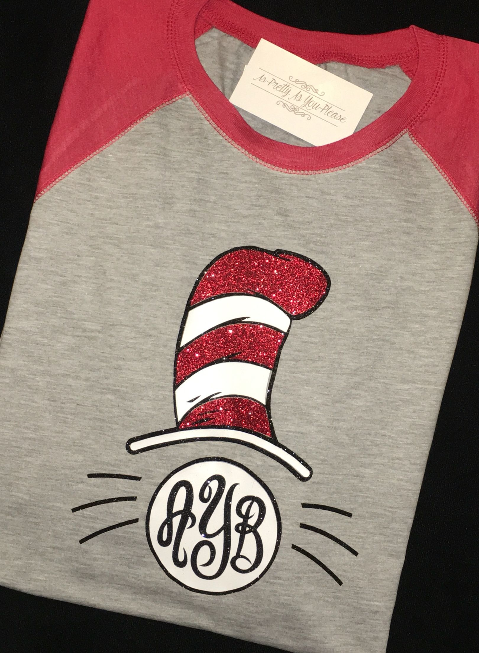 Classroom T Shirt Design ~ Dr suess cat in the hat custom shirts as pretty