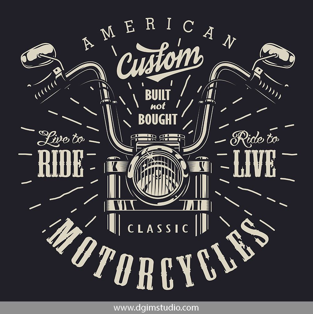 Motorcycle Bundle Motorbike Illustration Biker Logo Design Motorcycles Logo Design
