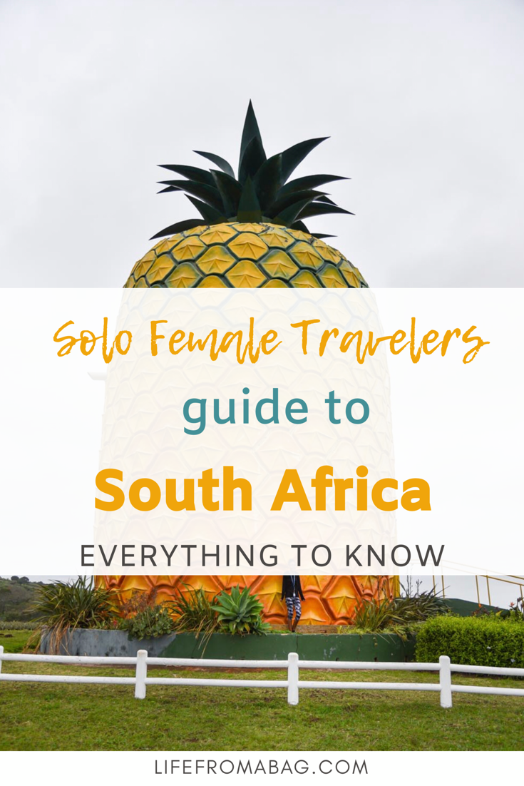Is South Africa Safe For Solo Female Travelers My Life From A Bag South Africa Travel Female Travel Solo Female Travel