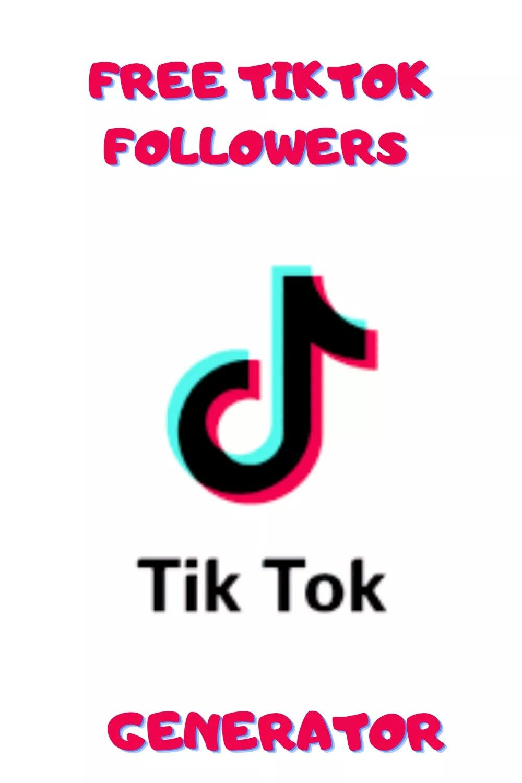 Free Tiktok Followers Generator Free Followers Free Free Followers App