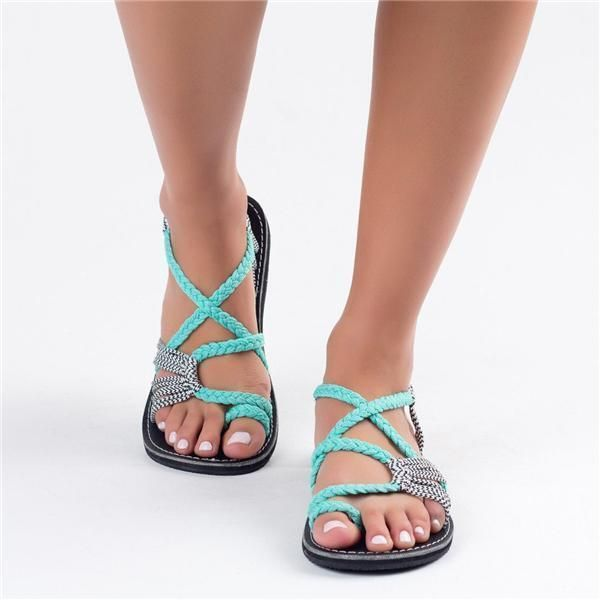 90fd5c324f The Beach · FREE shipping at pearlzone! _Women's shoes, summer sandals,  sandals with toes between European