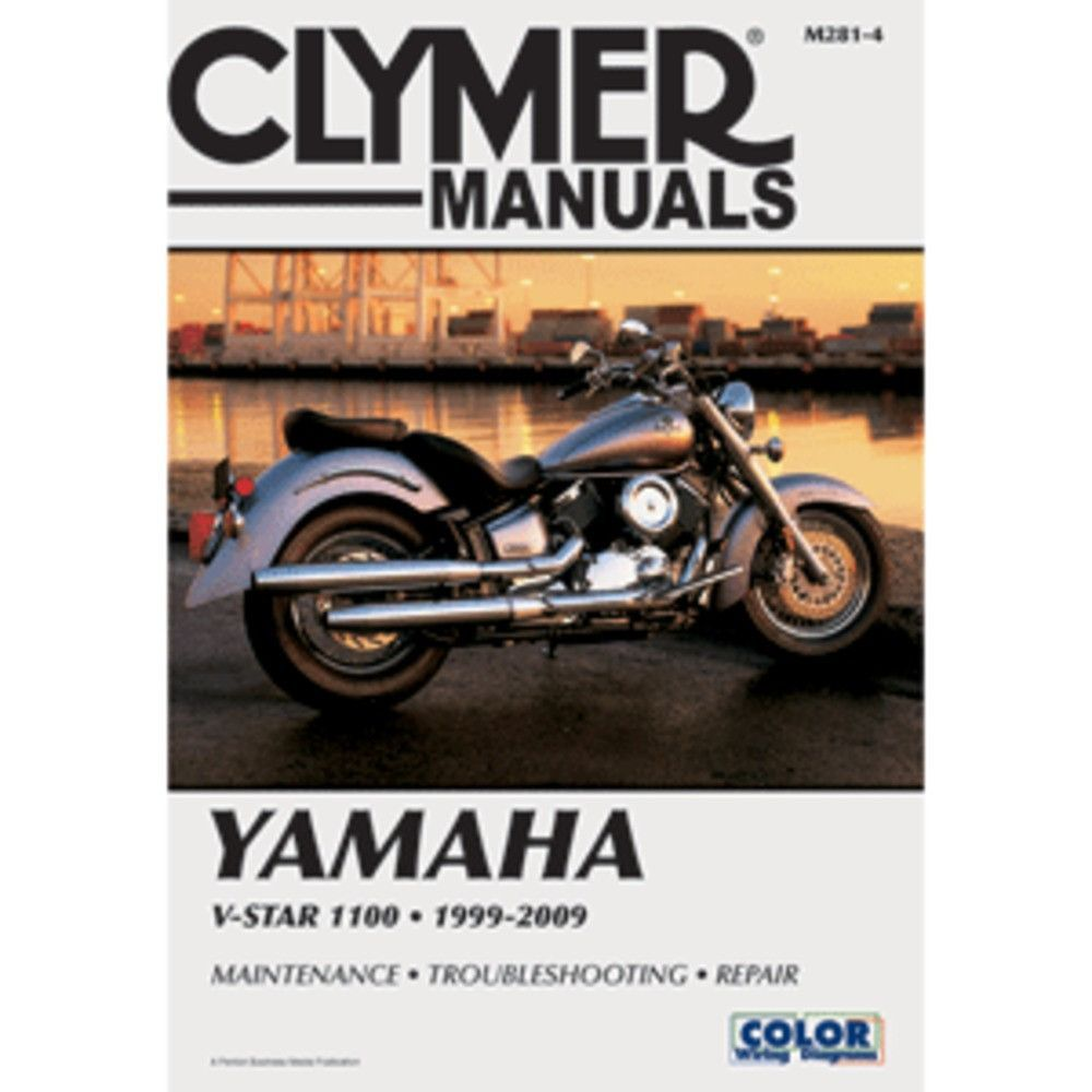 Clymer Yamaha V Star 1100 1999 2009 Service Manuals Pinterest Fzx700 Wiring Diagram